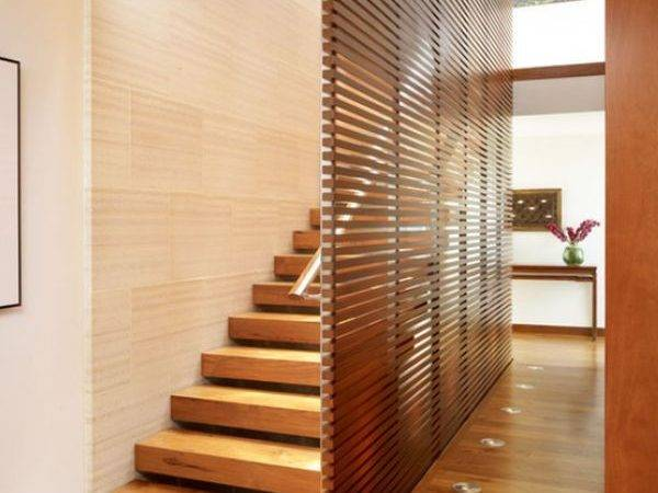 Simple Elegant Diverse Wooden Staircase Design Ideas
