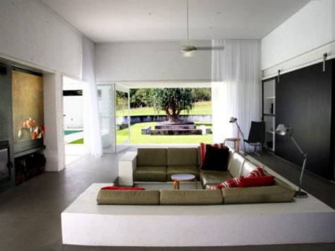 Simple Minimalist House Interiors Interior