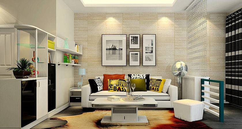 Simple Sitting Room Partition Ideas