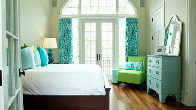 Simple Turquoise Color Palette Master Bedroom Home
