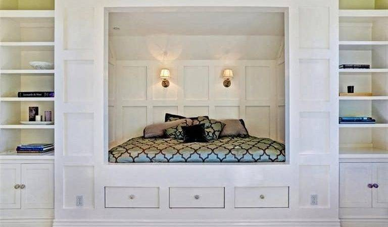Simply Organized Storage Solutions Small Bedrooms