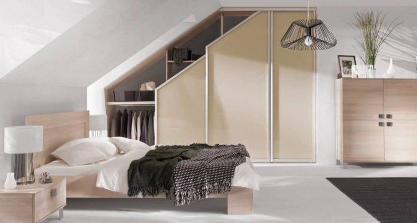 Sloped Ceiling Wardrobe Pull Out Youtube