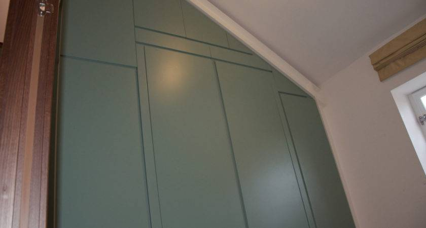 Sloping Ceiling Wardrobe Fitted Furniture