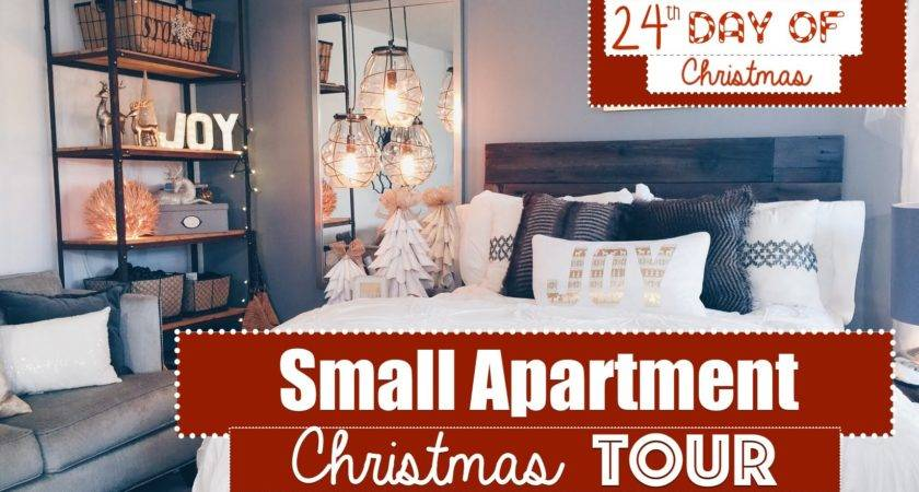Small Apartment Christmas Decorating Tour Day