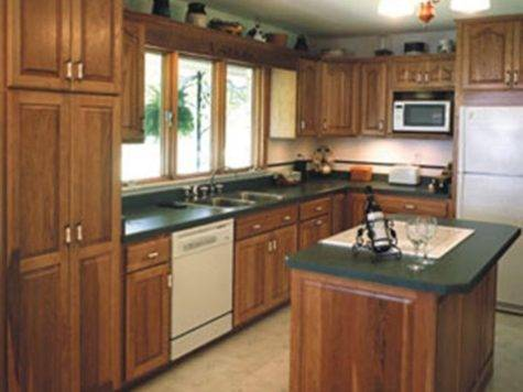 Small Apartment Kitchen Makeovers Inexpensive Cabinet