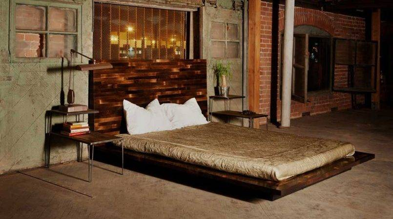 Small Bedroom Design Ideas Industrial Bed Wall