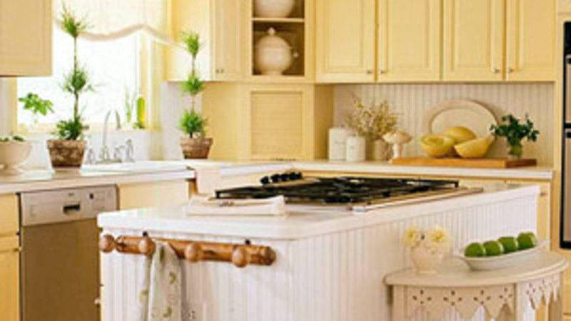 Small Country Kitchen Cabinets Design Ideas