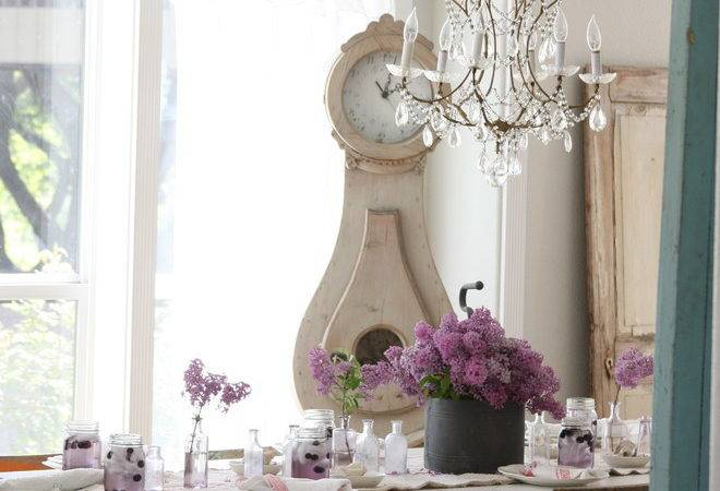 Small Crystal Chandelier Powder Room Eclectic