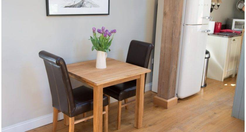 Small Dining Table Compact Set