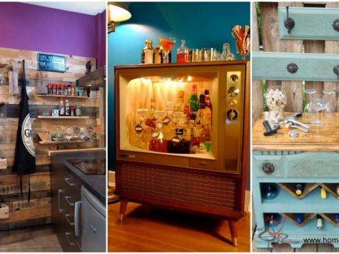 Small Diy Home Bar Ideas Enhance Your Parties
