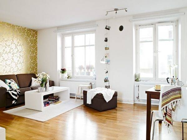 Small Flat Difficult Layout Great Decorating