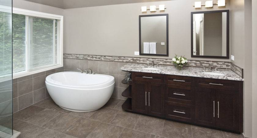 Small Freestanding Tub Bathroom Contemporary None