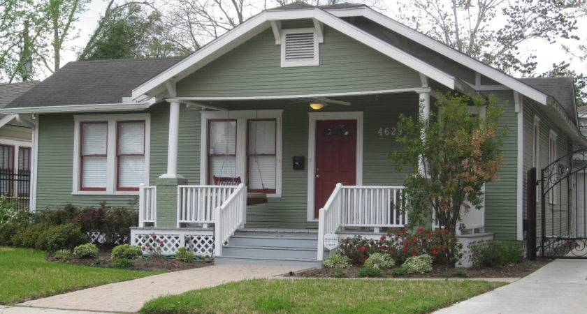 Small House Front Porch Bungalow Paint Colors Exterior