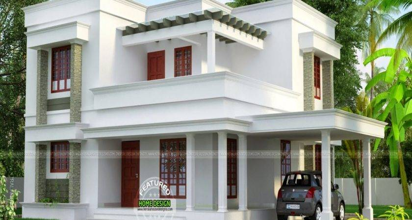 Small House Plans Flat Roof Designs
