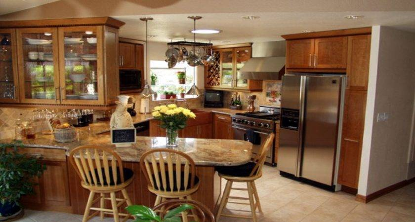 Small Kitchen Remodeling Country