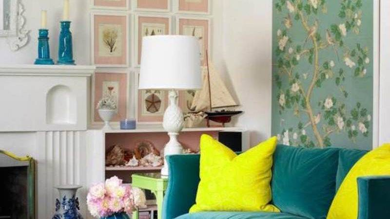 Small Living Room Furniture Colors Accents Ideas