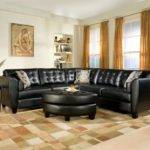 Small Living Room Ideas Black Leather Sofa