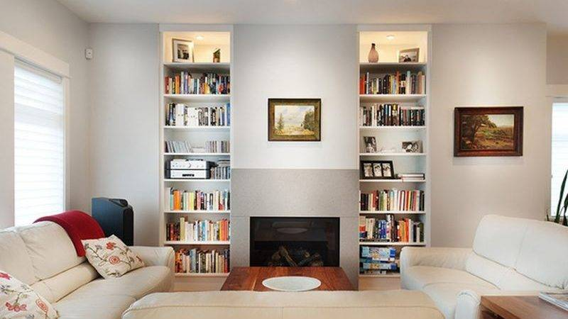 Small Living Room Storage Modern House