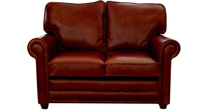 Small Red Leather Sofa Sectional