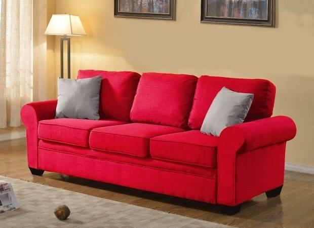 Small Red Sofa Bed Sofas Thesofa