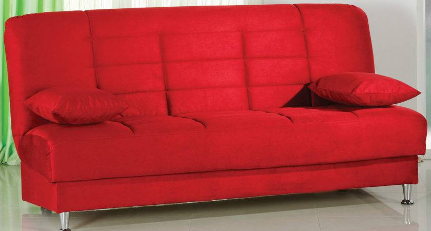 Small Red Sofa Best Leather Sofas Ideas