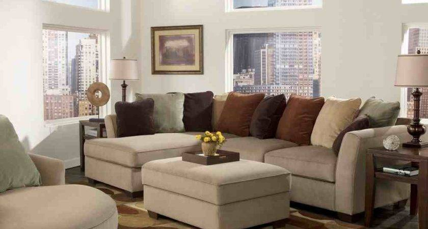 Small Room Design Sectional Living