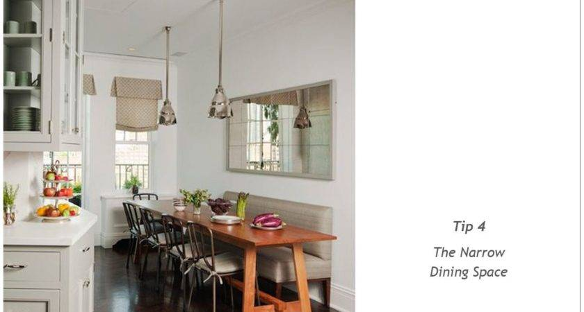 Smart Solutions Small Dining Space