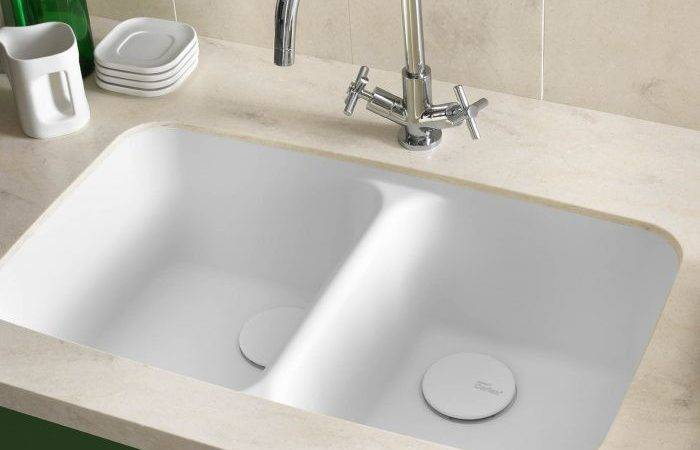 Smooth Integrated Corian Sink Worktops Direct