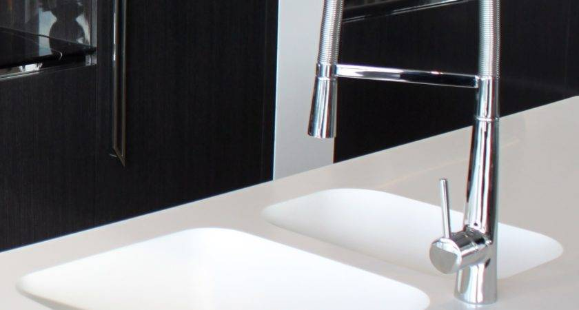 Smooth Integrated Sink Corian