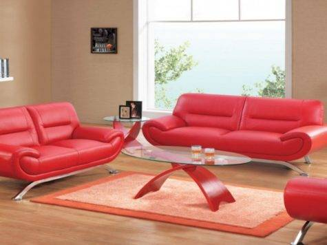 Sofas Ideas Decorative Pillows Leather Sofa Red