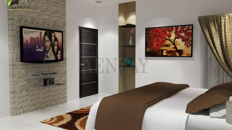 Software House Guest Room Designed Aenzay
