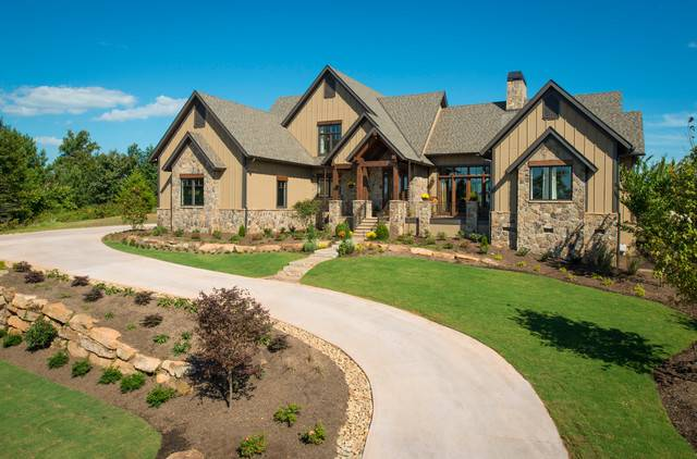 Southern Living Custom Builder Showcase Home Rustic