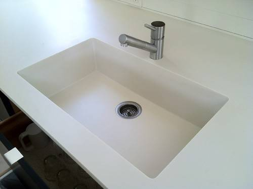 Spectacular Idea Corian Bathroom Sink Integrated Sinks