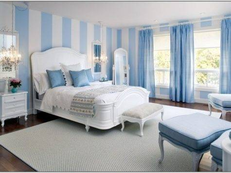 Spice Your Bedroom Stripes