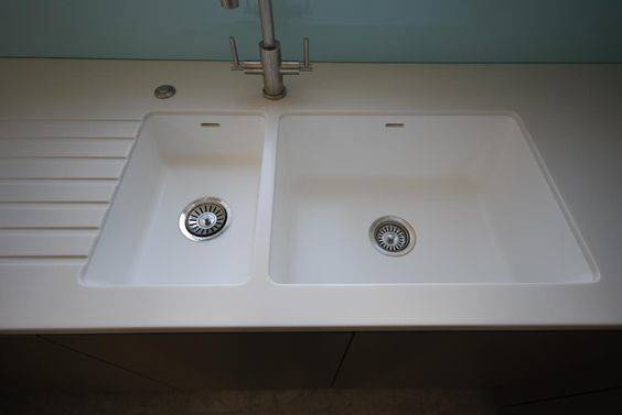 Spicy Integrated Sink Corian