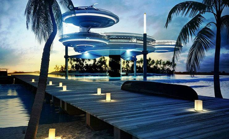 Spreading Like Octopus Underwater Hotel Archisections