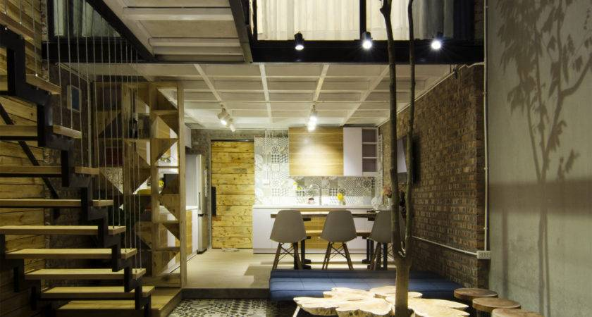Sqm Small Narrow House Design Low Cost Budget