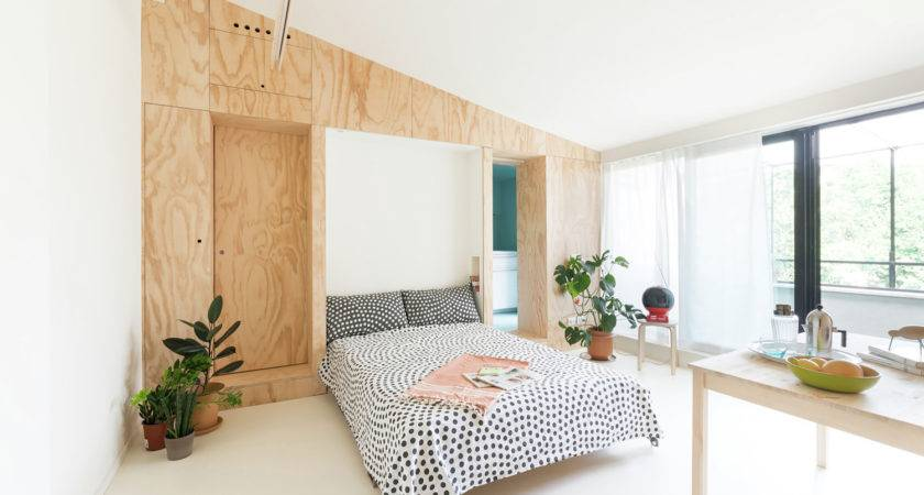 Square Foot Tiny Studio Apartment Flexible Living