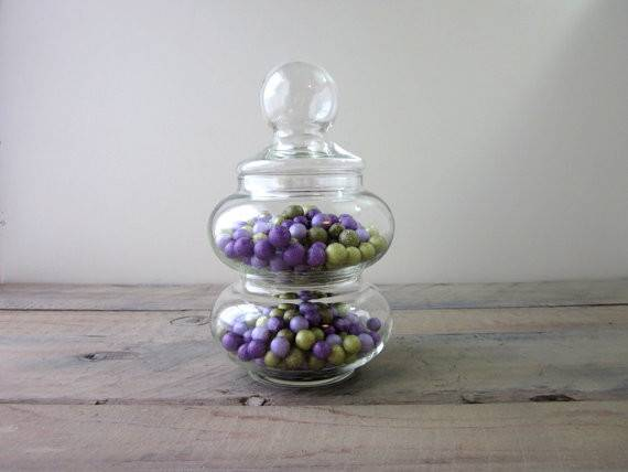 Stacking Glass Canister Apothecary Jars