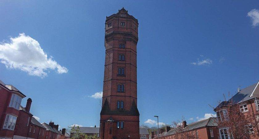 Staffordshire Water Tower Converted Into Luxury Five