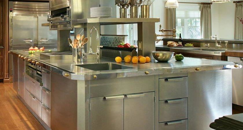 Stainless Steel Kitchen Cabinets Options Tips