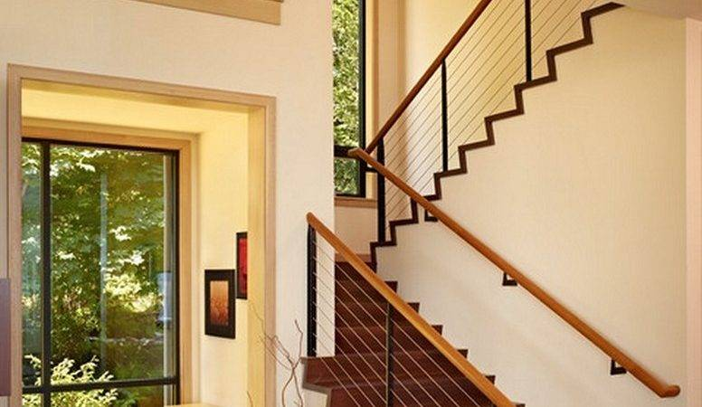 Stair Railing Ideas Improve Home Design
