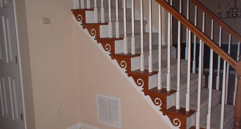 wooden staircase decorating ideas