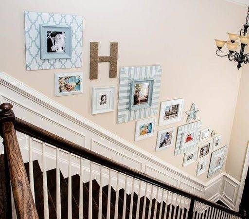 Staircase Wall Decorating Ideas Traditional Other