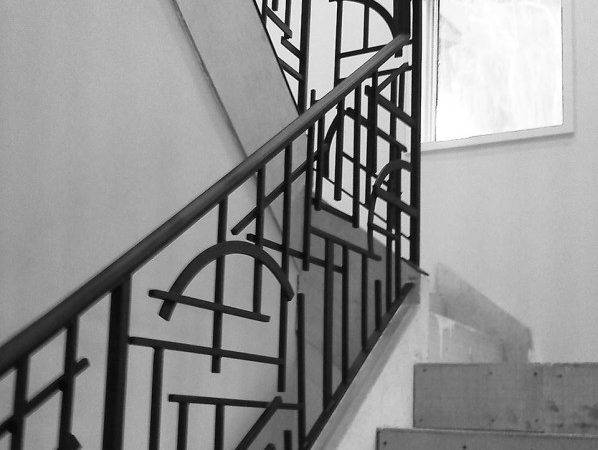 Stairs Amusing Wrought Iron Handrails Astonishing