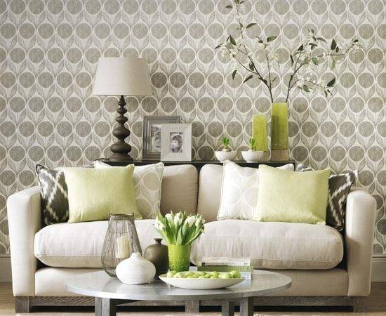 Statement Neutral Living Room Simple