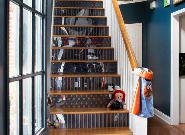 Step Your Stair Risers Hgtv