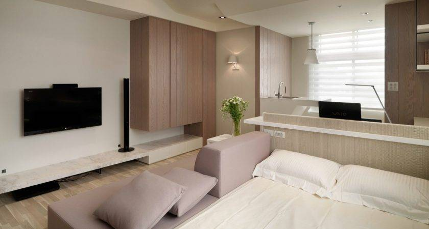 Studio Apartment Layout Interior Design Ideas