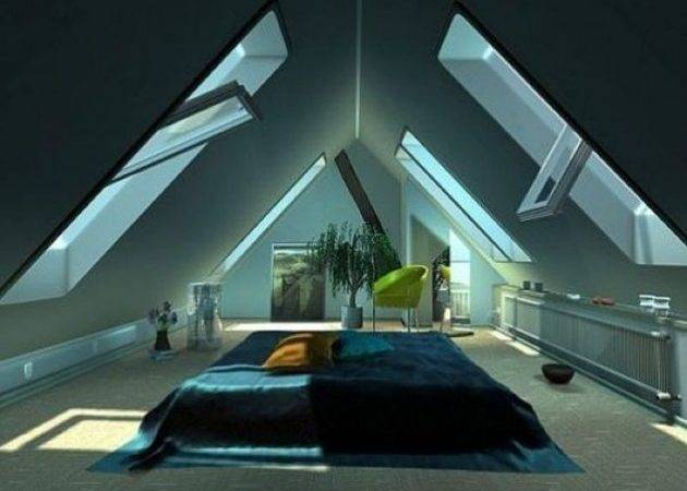 Stunning Attic Room Design Ideas