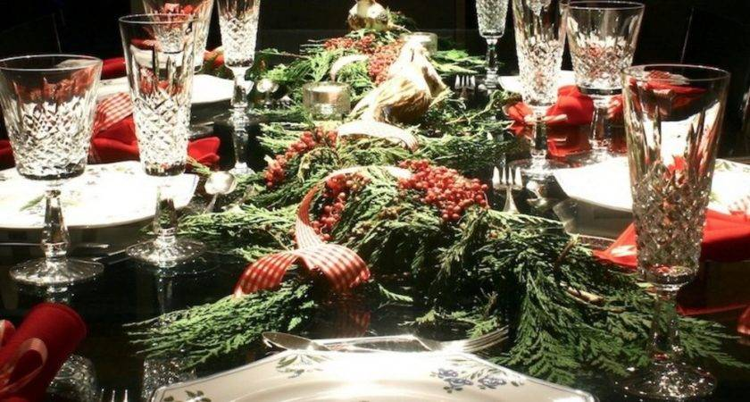Stunning Christmas Table Settings Style Estate